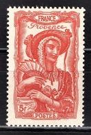 FRANCE 1943 -  Y.T. N° 598 - NEUF** /1 - France