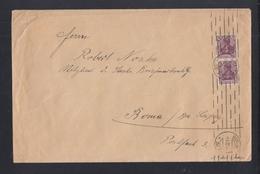 Dt. Reich Grossbrief 1922 Berlin Nach Borna - Deutschland