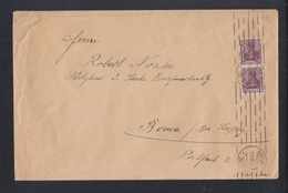 Dt. Reich Grossbrief 1922 Berlin Nach Borna - Briefe U. Dokumente