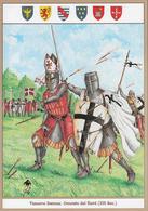SCHEDA - Editrice Militare Italiana - Vescovo Danese - Crociate Del Nord / Stemmi Araldici (XIII Secolo) - Militari