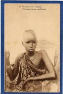 CPA Rwanda Afrique Noire Ethnic Type Circulé Roi King Urundi - Rwanda