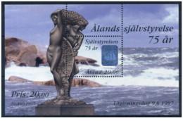 Aland - 1997 - Nuovo/new MNH - Denkmal - Mi Block 3 - Aland