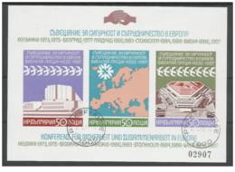 Bulgaria - 1987 - Usato/used - KSZE - Mi Block 176B - Gebruikt