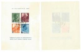 Romania - 1937 - Usato/used - Mi Block 2 - Gebruikt
