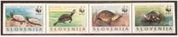 Slovenia - 1986 - Nuovo/new MNH - Tartarughe - Mi N. 131/34 - Slovenia