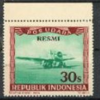 Indonésie Avion Surcharge RESMI MNH - Militaria