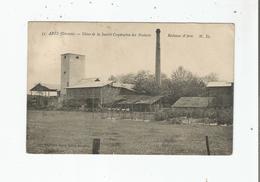 ARES (GIRONDE) 35 USINE DE LA SOCIETE COOPERATIVE DES PRODUITS RESINEUX D'ARES - Arès