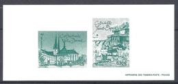 FRANCE 2003 Yvert Nº 3634 à 3627 GRAVURE OFFICIELLE LUXEMBOURG - Documenten Van De Post