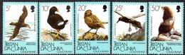 Tristan Da Cunha 1989 Gough Island Fauna Set Of 5, MNH, SG 473/7 - Tristan Da Cunha