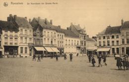 BELGIQUE - FLANDRE OCCIDENTALE - ROULERS - ROESELARE - De Noordkant Des Groote Markt. ( Le Côté Nord Du Grand Marché ). - Roeselare