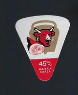 """1 étiquette Fromage """"portion"""" La Vache Qui Rit  Jambon  45% Materia Grasa - Fromage"""