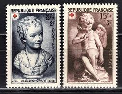 FRANCE 1950 - Y.T. N° 876 / 877  - NEUFS** / 4 - Unused Stamps