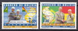 Bolivia MNH Pair - Bolivie