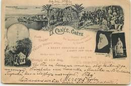 GRECE - La Canée - Crète - 1898 - Grecia