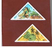 GRENADA - SG  1115.1118  - 1981 2^ FESTIVAL OF REVOLUTION (2 STAMPS OF THE SET) - USED° - Grenada (1974-...)