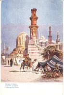 POSTAL    EL CAIRO  -EGIPTO   -A STREET IN CAIRO  (UNA CALLE DE EL CAIRO) - El Cairo