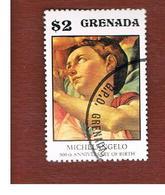 GRENADA - SG  751  - 1975 500^ ANNIV. MICHELANGELO: DONI MADONNA - USED° - Grenada (1974-...)