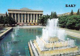 1 AK Aserbaidschan * Das Lenin Museum In Der Hauptstadt Baku - Karte Aus Der Zeit Der Sowjetunion * - Aserbaidschan