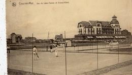 COQ-SUR-MER JEU DE LAWN TENNIS ET GRAND HOTEL - De Haan