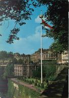 LUSSEMBURGO , BOULEVARD ROOSEVELT  ET PROMENADES VALLEE DE LA PETRUSSE, COLORI,VIAGGIATA , 1964 ,  BOLOGNA - ITALIA - Lussemburgo - Città