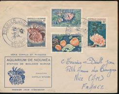 NOUVELLE CALEDONIE AQUARIUM DE NOUMEA FDC - Nouvelle-Calédonie