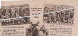 VOETBALSPORT...MECHELEN... 1937... ROYAL FOOTBALL CLUB MALINOIS - Non Classés