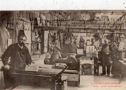 LUNEVILLE INDUSTRIE JOUETS ATELIER DE CARTONNAGE (CARTE PRECURSEUR ) - Luneville
