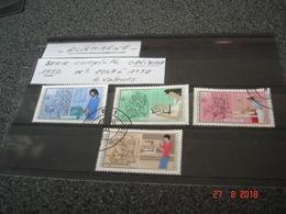 ALLEMAGNE  ANNEE 1987  ARTISANAT D'HIER ET D'AUJOURD'HUI   SERIE COMPLETE OBLITEREE - Collections (sans Albums)