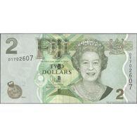 TWN - FIJI ISLANDS 109b - 2 Dollars 2011 Prefix DT - Signature: Whiteside UNC - Fidji