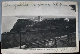 """CARTOLINA VIAGGIATA """"IL BELVEDERE DI PIAZZA NUOVA"""" - Ancona"""