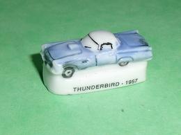 Fèves / Sports / Vehicules : Voiture , Thunderbird 1957 ( Moteur à Gauche )   T17 - Sports