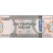 TWN - GUYANA 39 - 1000 1.000 Dollars 2011 Prefix AX - Signatures: Williams & A. Singh - Printer: G&D UNC - Guyana
