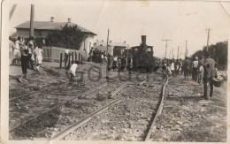 Romania - Mamaia - Derailed Train - Trains