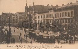Poland - Breslau - Wroclaw - Matthiasstrasse - Tram - Polonia