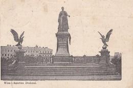 Wilna Vilnius Katerina Denkmal - Litauen
