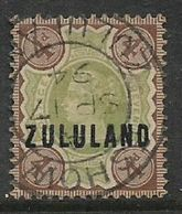 Zululand: 1868  Overprint On GB 4d, Used ESHOWE ZULULAND SP 17 94 C.d.s. - Zululand (1888-1902)