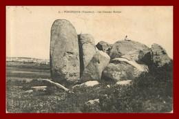 Porspoder * Les Grandes Roches       ( Scan Recto Et Verso ) - France