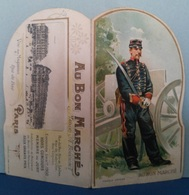 """0343 """"POP-UP - AU BON MARCHE' - MAISON A. BOUCICAUT - PARIS-EXPOSITION UNUV.LLE 1900 """" PUBBL. ORIG. - Publicités"""