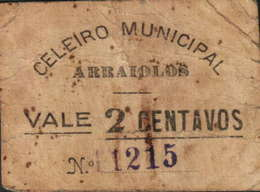 VALE  DE 2 CENTAVOS - Nº.1215 - «CELEIRO MUNICIPAL DE ARRAIOLOS» - Portugal