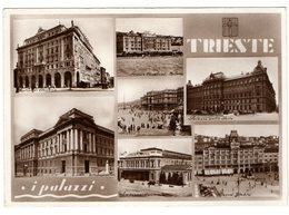 TRIESTE - I PALAZZI  - FOTOCELERE - NVG FG - C099 - Trieste