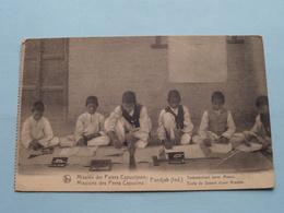 Missiën Der Paters CAPUCIJNEN / Capucins : PUNDJAB (Ind.) Tekenschool / Ecole De Dessin () Anno 19?? ( See Photo ) ! - Missions