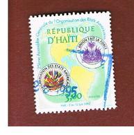 HAITI  - MI 1533   - 1995 OSA,  AMERICAN STATES ORGANIZATION   - USED° - Haiti