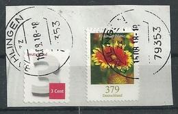 ALEMANIA 2018 - MI 3399 Blumen - BRD