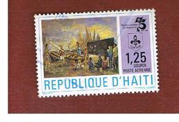 HAITI  - MI 1420   - 1983 SCOUTS  - USED° - Haiti