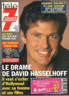 Télé 7 Jours N° 1763 - Semaine Du 12 Au 18 Mars 1994 - David Hasselhoff, Julia Roberts, Les Nuls, Juliette Binoche - 1950 - Nu
