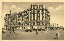 Casablanca .  Rue Savorgnan De Brazza .  BELLE CARTE SEPIA .  BELLE ANIMATION , Camion . - Casablanca