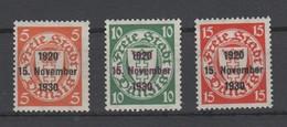 Danzig , Nr 220-22 Posrfrisch ( 55.-) - Allemagne