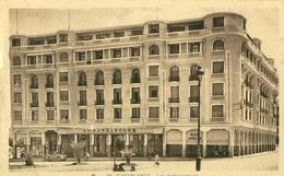 Casablanca . Les Ambassadeurs .  BELLE CARTE SEPIA .   ANIMATION , Automobile . - Casablanca