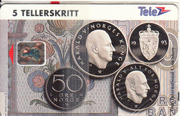 NORWAY - Mynter International Coin Show/Oslo 1993(020), CN: C3A100561, Tirage 3000, 10/93, Mint - Norway