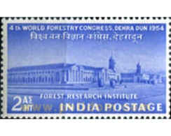 Ref. 325800 * MNH * - INDIA. 1954. CONGRESO FORESTAL - Unused Stamps
